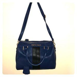 Christian Soriano blue and black purse